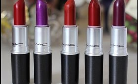 Mac Lipsticks Review Swatch | Labiales  |MakeupbyIRMITA