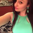 Mint and mint earrings