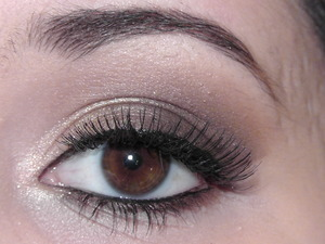 Used only The Balm Nude Tude palette to create this easy everyday neutral look inspired by Kim Kardashian :)