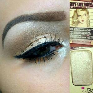Wearing My New Eyeshadow On My Lid From October's BirchBox!! I Looooove It <333