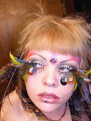 jupiter feather eyelashes