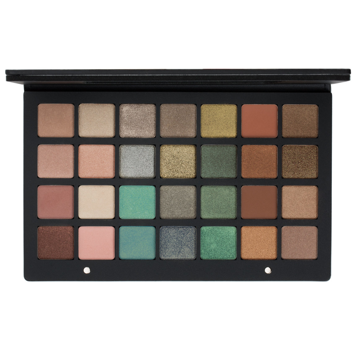 Natasha Denona Eyeshadow Palette 28 Green Brown product smear.