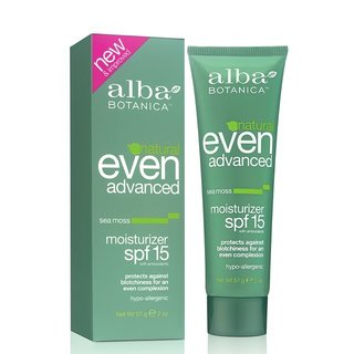 Alba Botanica Natural Even Advanced Moisturizer SPF 15