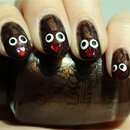 Reindeer/Rudolph Nails