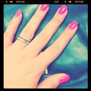 Pink Nails; my favorite summer color