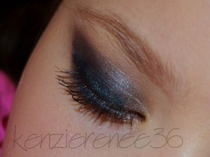 Used Urban Decay Smoked Palette