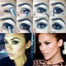 Eye Makeup Tutorial Jennifer Lopez