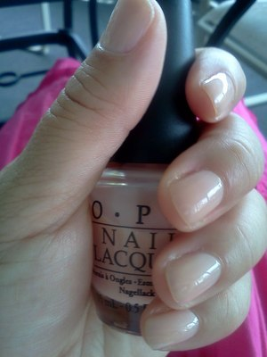 """OPI Coney Island Cotton Candy (my favorite """"nude"""" color)"""