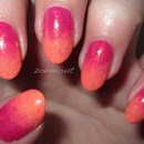 Pink and Orange Gradient