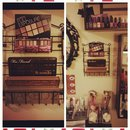 Makeup Storage: Palette display