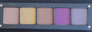 INGLOT 5-pan Square Palette