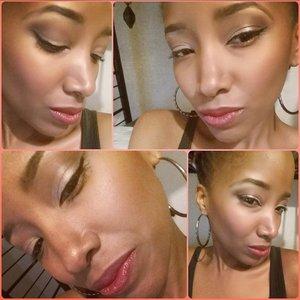 Full Natural Beat w/ soft semi nude lips...? @dapaintedcanvas