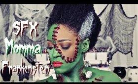Momma Frankenstein SFX : Halloween 2019 l TotalDivaRea