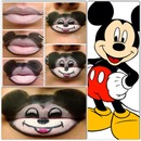 Mickey Mouse Lips