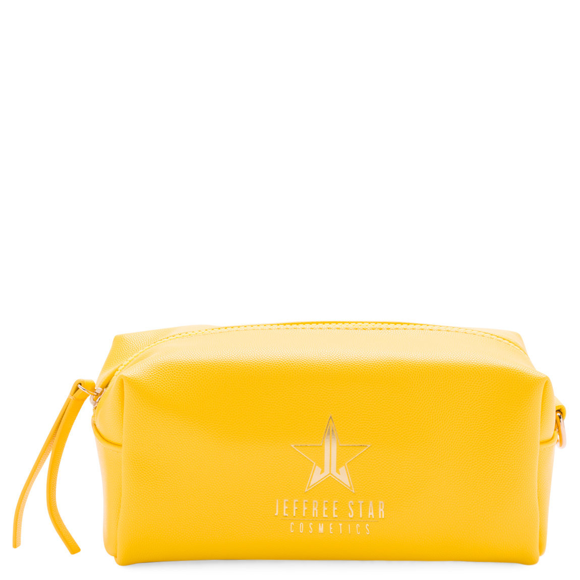 Jeffree Star Cosmetics Accessory Bag Yellow product swatch.