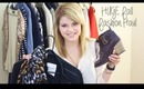 HUGE Fall Fashion Haul: Brandy Mellville, H&M, Betsey Johnson, and more!