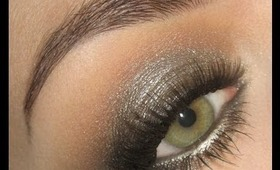 Fall 2013 Trend : Metallic Smoke Gunmetal makeup tutorial