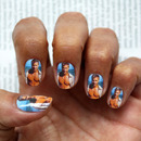 Brad Pitt Nail Art Decals