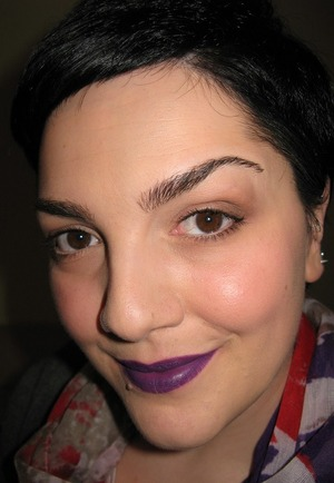 Another love of mine: #Violet Lips ^_^