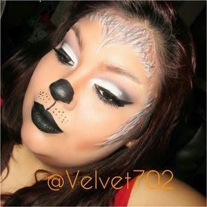 Halloween Makeup i did of Mayratoughofglam recreation.