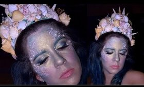 MERMAID MAKEUP TUTORIAL | COLLABORATION WITH SILVIA QUIROZ