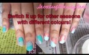 = Easy, Simple & Quick Bright Spring Nail Design =