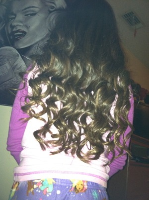 Did my cousins hair !