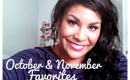 ❄October & November Favorites 2012 ❄