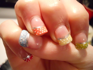 just some fun summer nails.