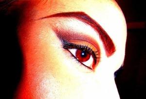 #brown #orange #bold #brow