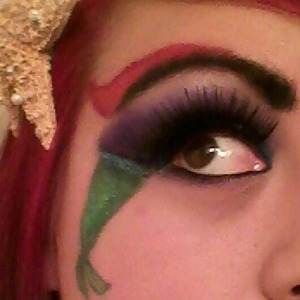 i love the little mermaid and i wanted to create a look inspired by Ariel.