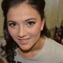 Stunning client - make up and hair by L!