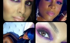 Kelly Rowland Kisses Down Low Makeup Look!