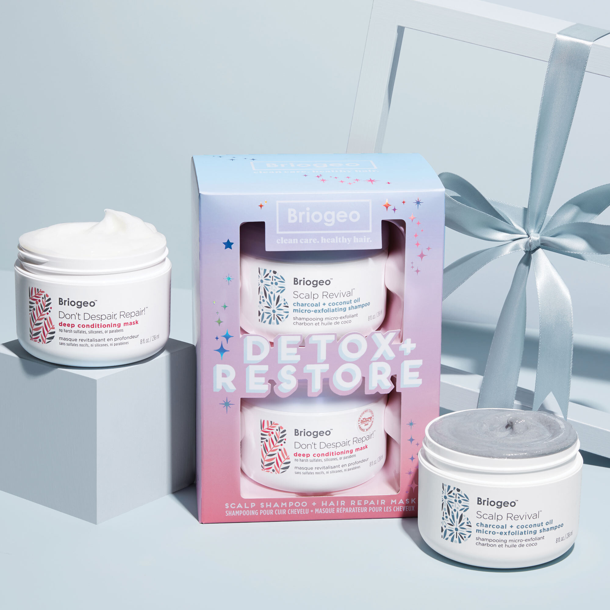 Alternate product image for Detox and Restore Set shown with the description.