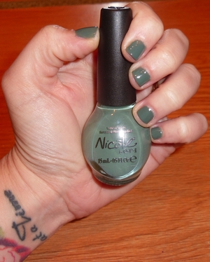Nicole by OPI Green Up Your Act