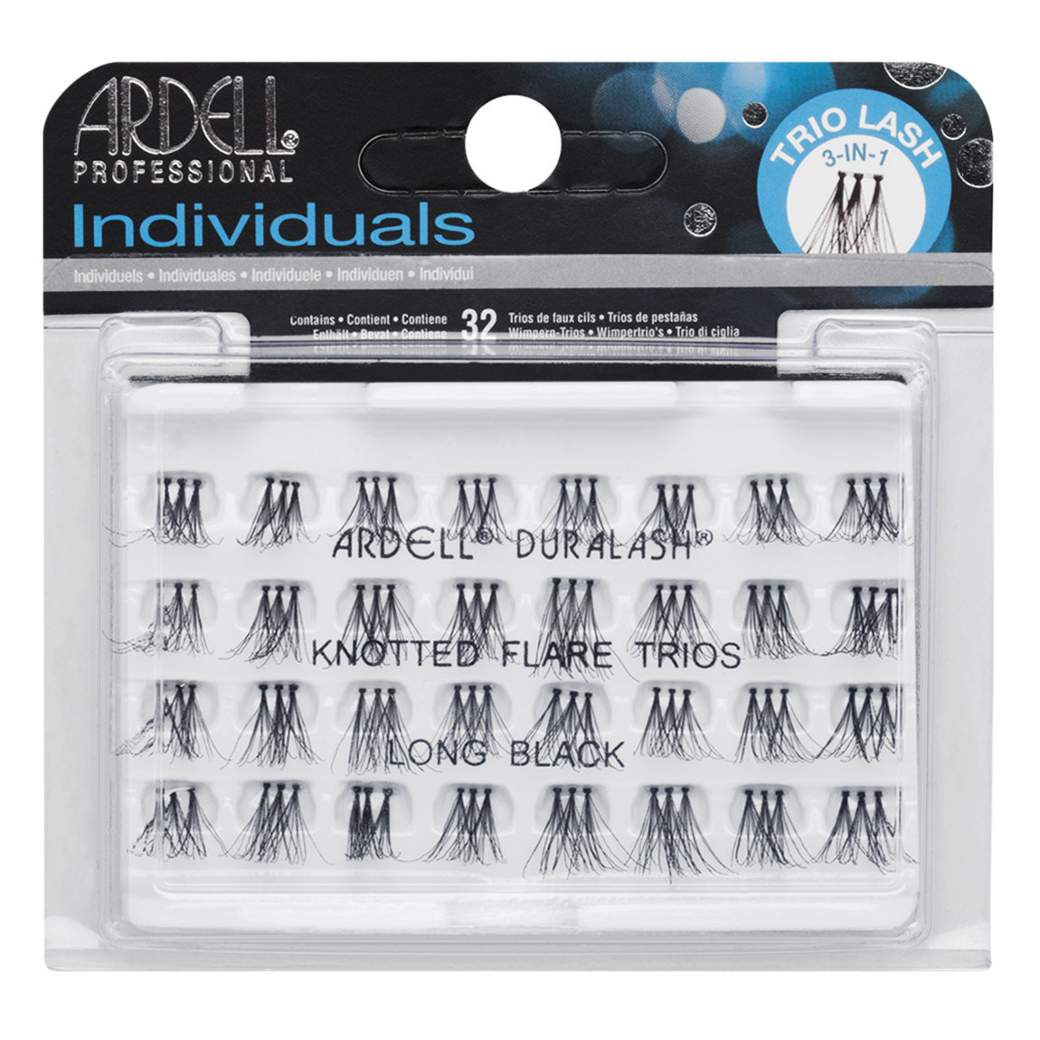 Ardell Trio Individuals Knotted Long Black