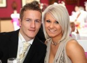 Me and the Boyfriend at my Aunties Wedding.