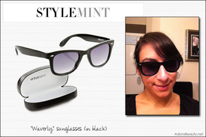 Love these new sunglasses I got from StyleMint! http://www.adorabeauty.net/?p=3348
