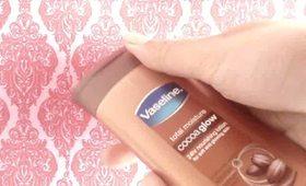 BeautyNeverDates- Product display- Vaseline Cocoa Glow