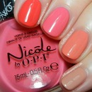 Nicole by OPI Pinks and Coral Ombre