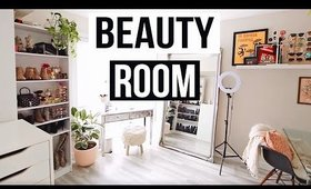 HOUSE TOUR 🌿 [p a r t 2] The Beauty Room     | Karissa Pukas HOME
