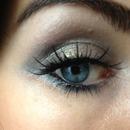 Smoky eye using neutral shades by Sarah G Cosmetics
