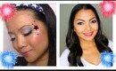 Party Look 4th of July with MissBecky0207 (wet n wild trios)