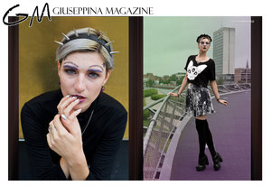 Photoshoot for giuseppina magazine. We picked theme withcraft. Mua: (me) Manon Van Mullem Model: Sara Scarlet Photo by Nyctophilia Consequat
