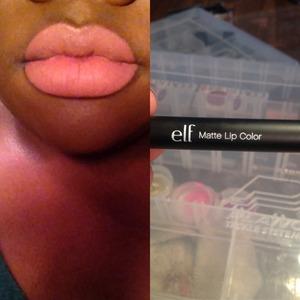 Elf Matte Lipstick Praline!!!