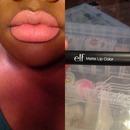Praline on my lips!!!