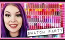 Swatching ALL of My Jeffree Star Liquid Lipsticks