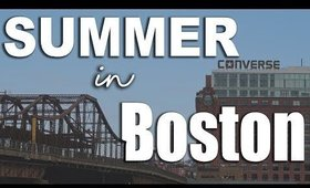 Summer in Boston: A Montage.