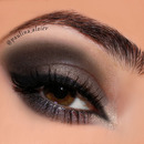 Gunmetal Smokey Eye