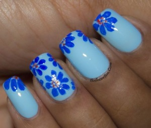 Blog post here: http://www.bellezzabee.com/2014/01/californails-january-nail-art-challenge_11.html